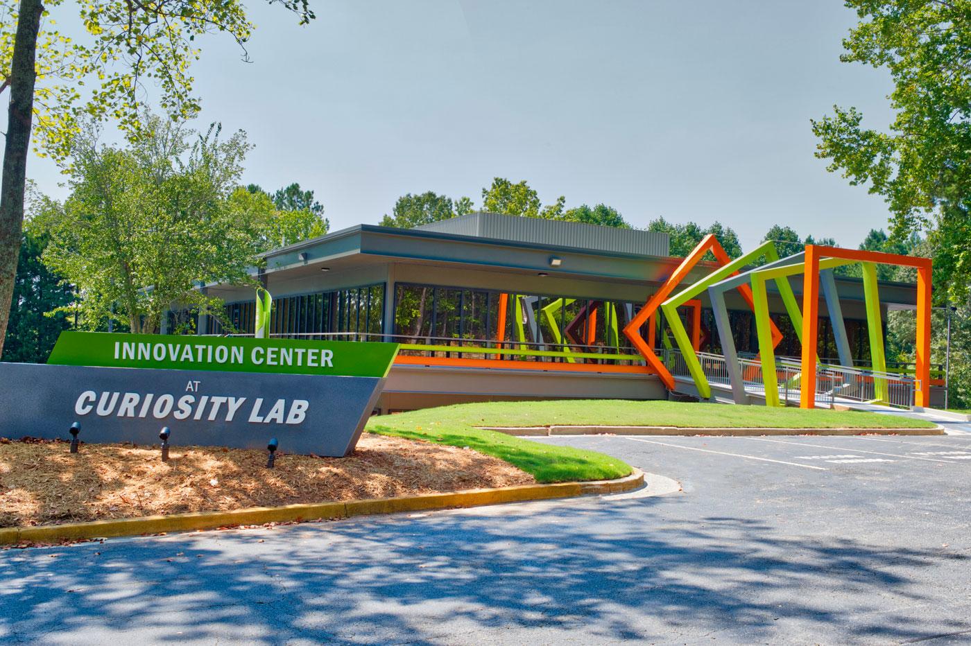 Exterior of Innovation Center