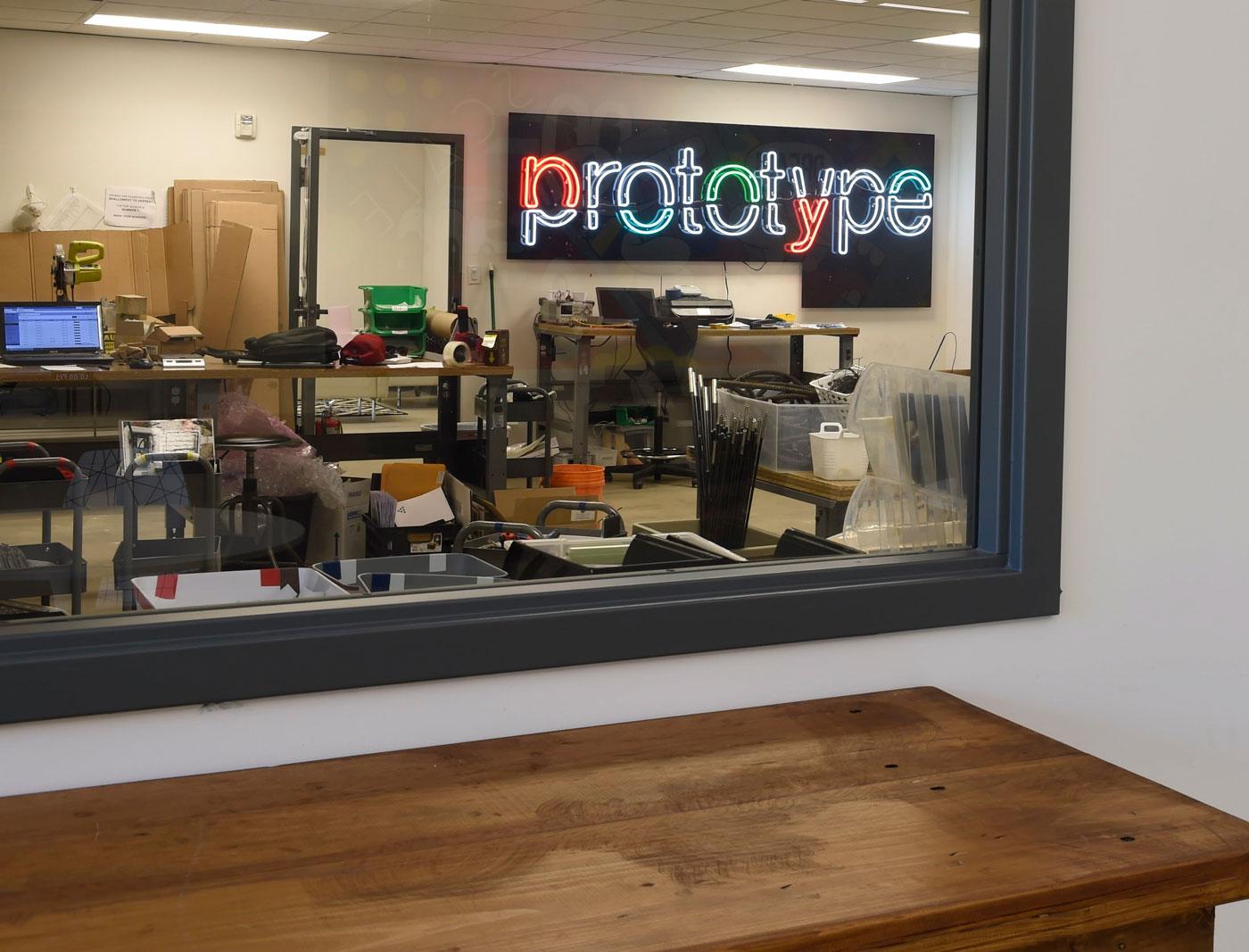 Prototype Design Lab at Innovation Center.
